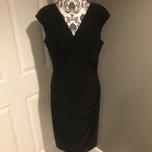 Beautiful Faux Wrap Dress